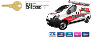 LockRite Van and Payment Cards Accepted